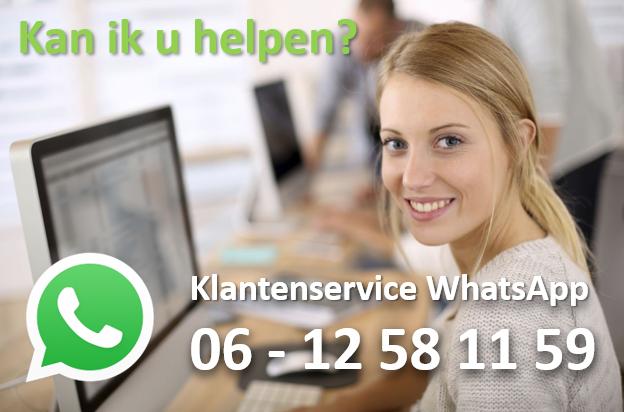 Klantenservice Whatsapp